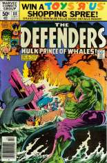 Defenders (1972-1986) #88 Variant A: Newsstand Edition
