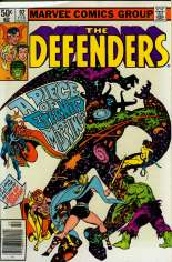 Defenders (1972-1986) #92 Variant A: Newsstand Edition
