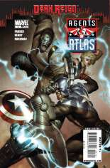 Agents of Atlas (2009) #3 Variant A