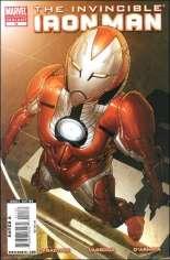 Invincible Iron Man (2008-2012) #11 Variant B: 2nd Printing