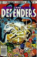 Defenders (1972-1986) #114 Variant A: Newsstand Edition