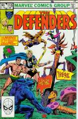 Defenders (1972-1986) #115 Variant B: Direct Edition