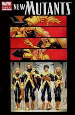 New Mutants (2009-2012) #1 Variant E: 2nd Printing