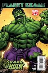 Skaar: Son of Hulk (2008-2009) #12 Variant B: Hulk Cover