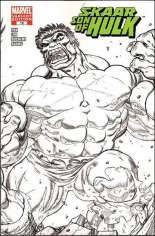 Skaar: Son of Hulk (2008-2009) #12 Variant D: Sketch Cover