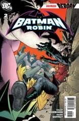 Batman and Robin (2009-2011) #2 Variant B: 1:25 Variant