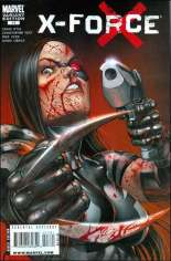 X-Force (2008-2010) #17 Variant C: Bloody Variant