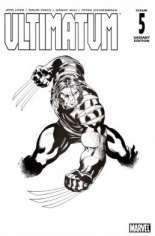 Ultimatum (2009) #5 Variant D: Sketch Cover