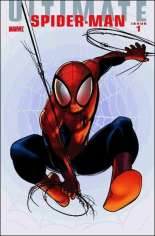 Ultimate Comics: Spider-Man (2009-2011) #1 Variant C: Foilgram Cover