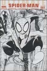 Ultimate Comics: Spider-Man (2009-2011) #1 Variant D: Black & White Edition