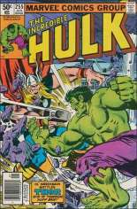 Incredible Hulk (1968-1999) #255 Variant A: Newsstand Edition