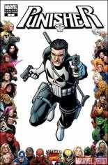 Punisher (2009-2010) #8 Variant B: 70th Anniversary Frame Variant