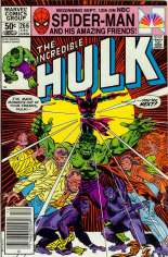 Incredible Hulk (1968-1999) #266 Variant A: Newsstand Edition