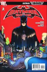 Batman and Robin (2009-2011) #2 Variant C: 2nd Printing