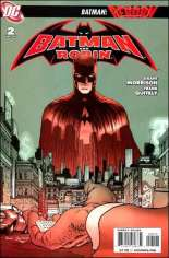 Batman and Robin (2009-2011) #2 Variant D: 3rd Printing