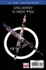 Uncanny X-Men (1963-2011) #514 Variant E: 2nd Printing