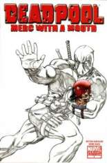 Deadpool: Merc With a Mouth (2009-2010) #1 Variant D: San Diego Comicon Variant Sketch Cover