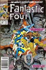 Fantastic Four (1961-1996) #347 Variant A: Newsstand Edition