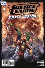 Justice League: Cry for Justice #4