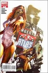 X-Men vs. Agents of Atlas (2009-2010) #1 Variant C: Zombie Variant