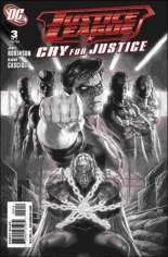 Justice League: Cry for Justice #3 Variant B: 2nd Printing