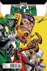 Fall of the Hulks: Alpha #One-Shot  Variant A