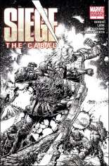 Siege: The Cabal (2010) #One-Shot  Variant C: 1:75 Sketch Cover