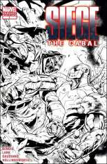 Siege: The Cabal (2010) #One-Shot  Variant D: 1:200 Sketch Cover