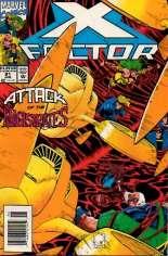 X-Factor (1986-1998) #91 Variant A: Newsstand Edition
