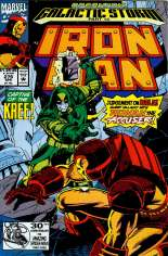 Iron Man (1968-1996) #279 Variant B: Direct Edition
