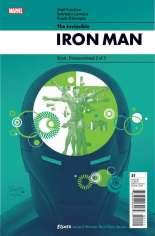 Invincible Iron Man (2008-2012) #21 Variant A