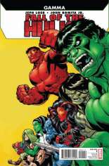 Fall of the Hulks: Gamma (2010) #One-Shot  Variant A