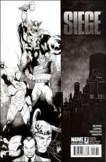 Siege (2010) #1 Variant C: Sketch Cover