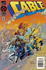 Cable (1993-2002) #18 Variant A: Newsstand Edition