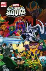 Marvel Super Hero Squad (2010-2011) #1 Variant B: Wraparound Villain Variant Cover