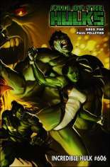 Incredible Hulk (2009-2010) #606 Variant B: 1:10 Variant