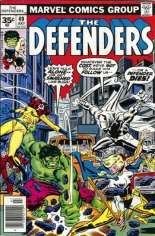 Defenders (1972-1986) #49 Variant B: 35 Cent Variant