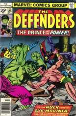 Defenders (1972-1986) #52 Variant B: 35 Cent Variant