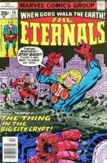 Eternals (1976-1978) #16 Variant B: 35 Cent Variant