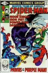 Marvel Team-Up (1972-1985) #Annual 4 Variant B: Direct Edition