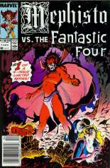 Mephisto Vs... (1987) #1 Variant A: Newsstand Edition