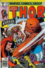 Thor (1966-1996) #285 Variant A: Newsstand Edition