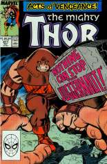 Thor (1966-1996) #411 Variant B: Direct Edition