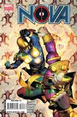 Nova (2007-2010) #34 Variant B: Deadpool Variant