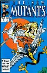 New Mutants (1983-1991) #58 Variant B: Direct Edition