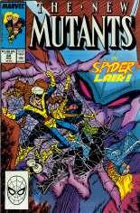 New Mutants (1983-1991) #69 Variant B: Direct Edition