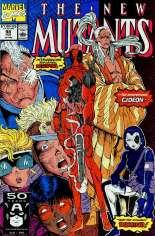 New Mutants (1983-1991) #98 Variant B: Direct Edition