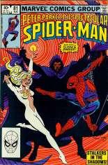 Spectacular Spider-Man (1976-1998) #81 Variant B: Direct Edition