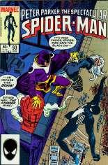 Spectacular Spider-Man (1976-1998) #93 Variant B: Direct Edition