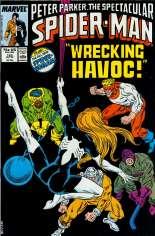 Spectacular Spider-Man (1976-1998) #125 Variant B: Direct Edition